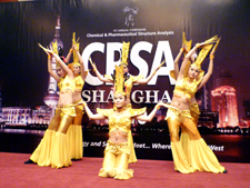 Opening reception at CPSA Shanghai 2010